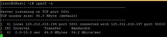 Hướng dẫn kiểm tra tốc độc mạng với Iperf