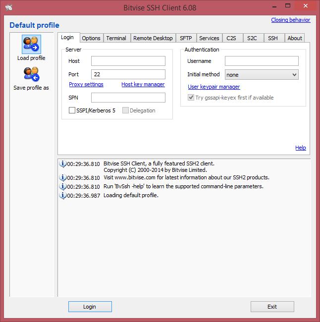 Hướng dẫn tạo SOCKS proxy via SSH 5 với Bitvise SSH Client